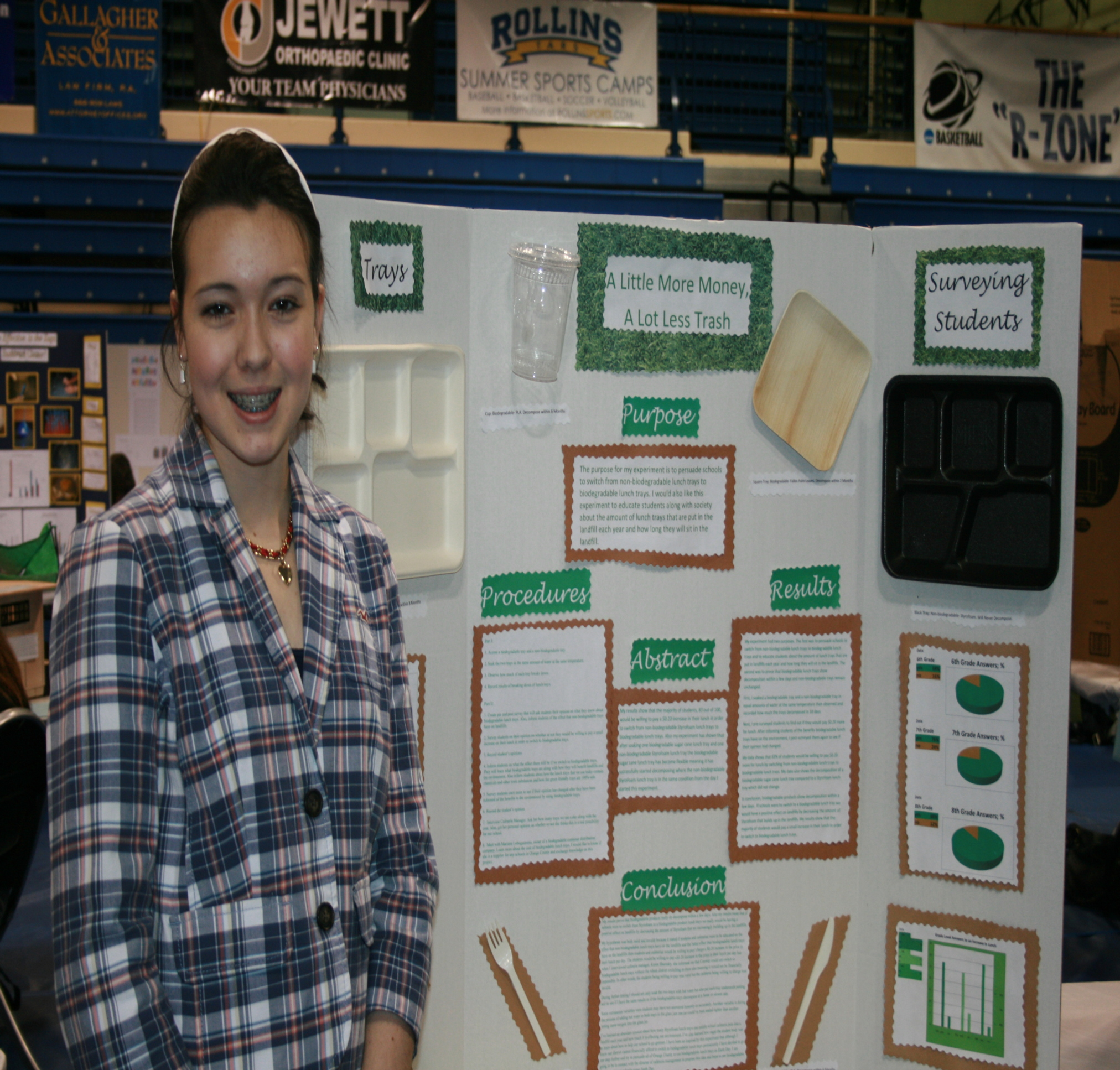 Environmental Projects Dominate Schools Science Expo WON
