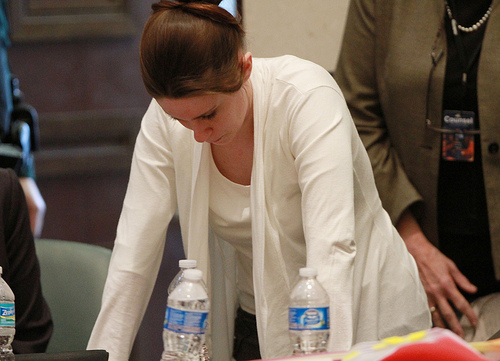 casey anthony photos of skull. Casey Anthony becomes upset