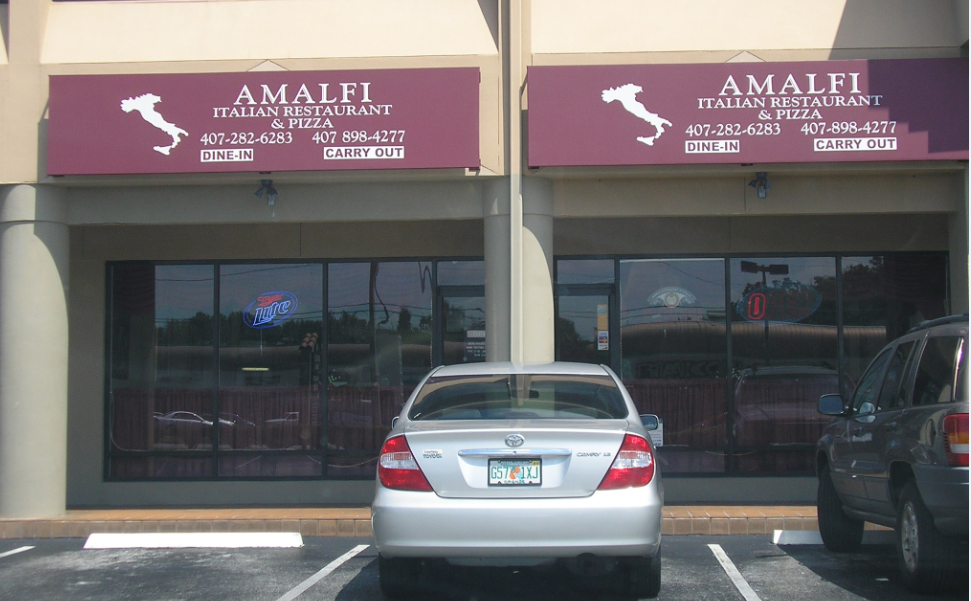 Amalfi Italian Restaurant & Pizza On Curry Ford Road