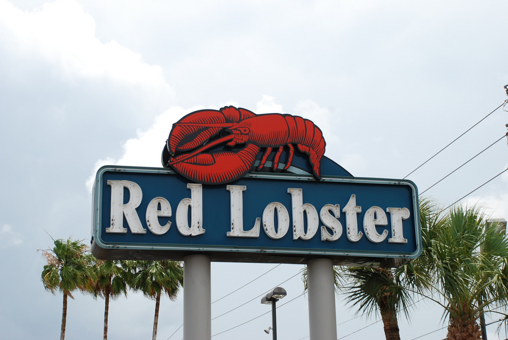 darden dining places red lobster