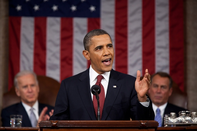 President Barack Obama delivers the 2012 State of the Union address (File photo)