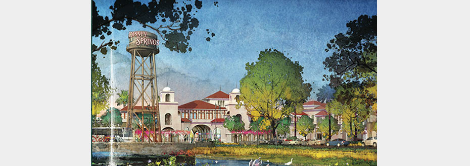 Disney Announces Vision for Disney Springs