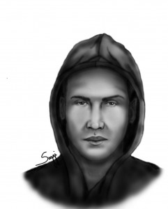 Composite sketch of second suspect in Middlebrook Farms double murder (OPD)