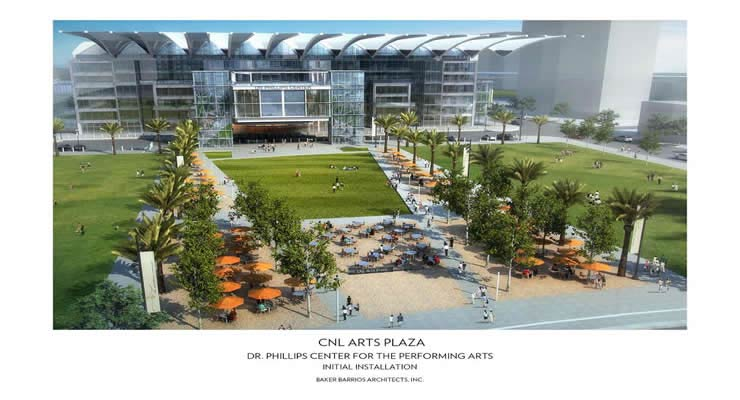 Dr. Phillips Center for the Performing Arts unveils new plaza designs