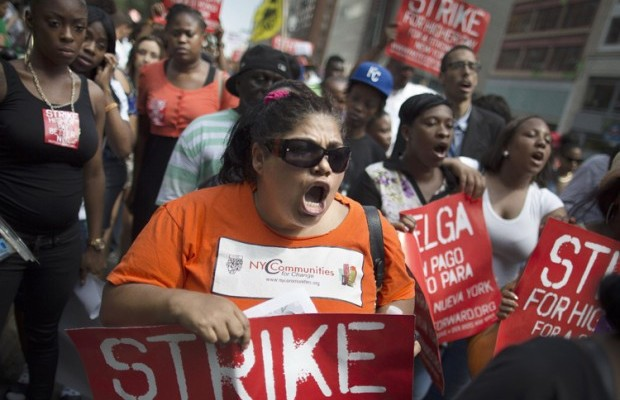 Now you know why folks won't take fast-food workers' strikes seriously