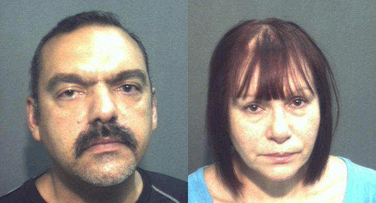 Dr. Ibem Borges (l) & Wanda Otero - suspects