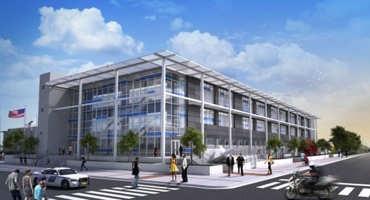 Rendering of new Orlando Police Department Headquarters