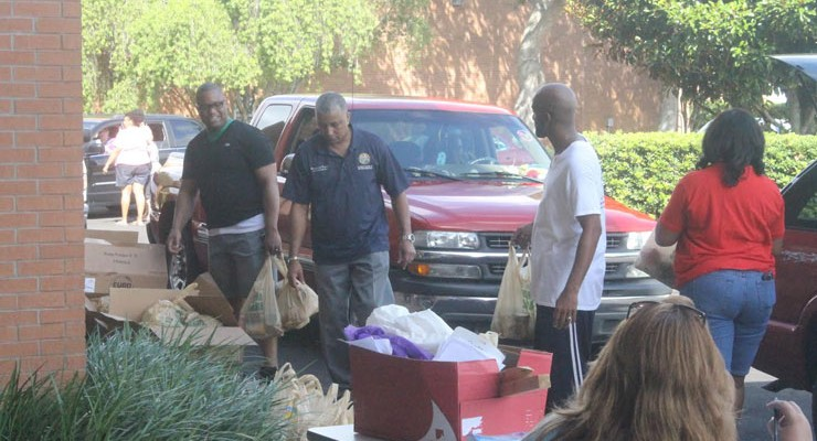 Dwight Taylor Food Giveaway Feeds Dozens of Hungry Central Floridians