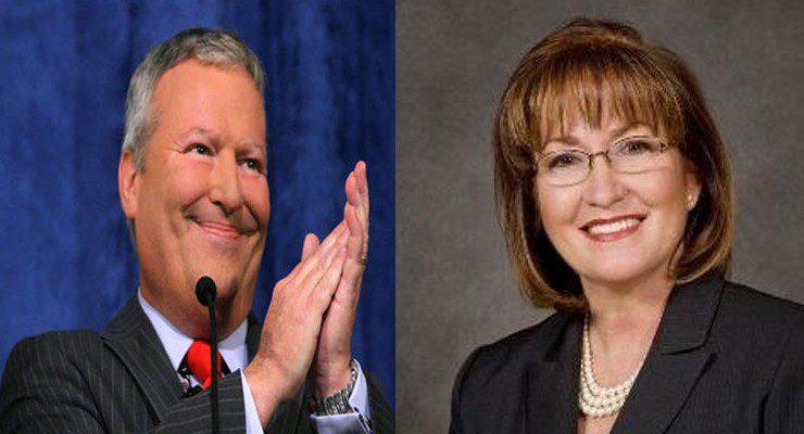 Orlando Mayor Buddy Dyer & Orange County Mayor Teresa Jacobs