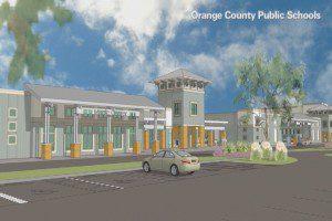 A rendering of the new West Orange High relief school. (Orange County Public Schools)