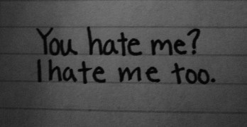 Who taught you to hate yourself?