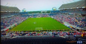 Disappointing Crowds Again for Copa America at Orlando's Camping World Stadium