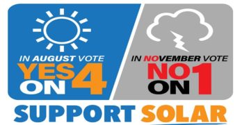 "Orange County Democratic Party Endorses ""Yes in August"" on Solar"