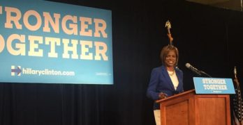 Chief Val Demings Introduces President Bill Clinton in Orlando