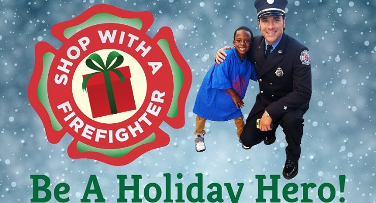 'Shop with a Firefighter' Brings Holiday Magic to Deserving Local Children