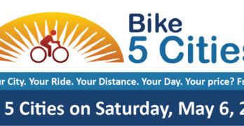 Bike 5 Cities' Event to Showcase Central Florida Trails