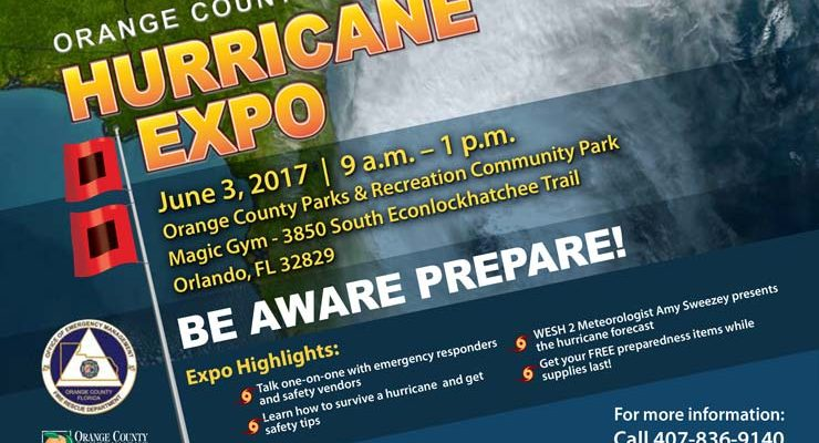 Coming Up: Orange County Hurricane Expo on June 3rd