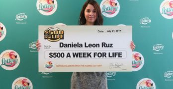 18-Year-Old Orlando Resident Claims Top Prize in $500 A Week For Life Scratch-Off