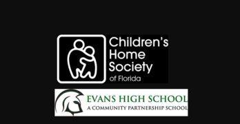 Children's Home Society To Help Evans HS Grads, Tim Only and Marklyne Joachim