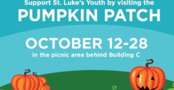 It's Back…the St. Luke's Pumpkin Patch Returns