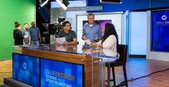 Full Sail University Launches Dan Patrick School of Sportscasting