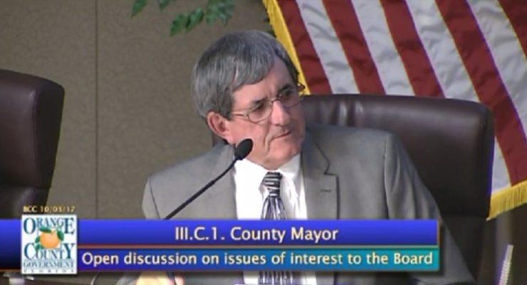 Commissioner Pete Clarke Running for Orange County Mayor