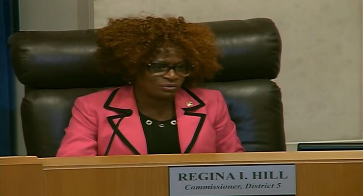 Complaint Against Commissioner Regina Hill Alleges Malfeasance & Official Misconduct