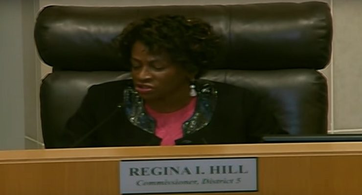 Bombshell: Complaint Details Housing Fraud Committed by Commissioner Regina Hill