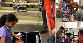 OCPS Students from Puerto Rico Get New Instruments